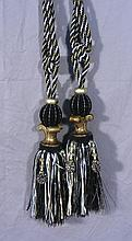PAIR OF DECORATIVE TASSELS