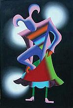 MARK KOSTABI (1960-    ) AMERICAN