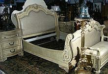 HEAVY FOUR PIECE KING SIZE BEDROOM SET
