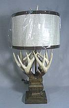 ANTLER MOTIF TABLE LAMP
