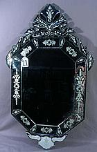 OVAL VENETIAN GLASS MIRROR