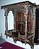 ANTIQUE HAND CARVED WOODEN TABERNACLE