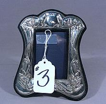 VINTAGE STERLING SILVER PHOTO FRAME
