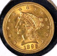 Liberty $2? Gold, 1896, AU