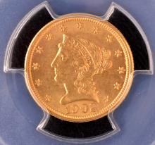 Choice Liberty $2? Gold, 1902, PCGS MS_63
