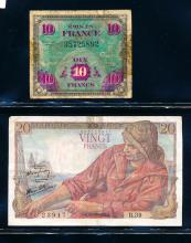 France, Banknote Collection