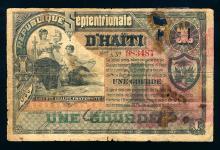 Haiti 1 Gourde, 1888, issued