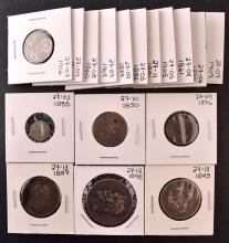 Russian silver coin lot