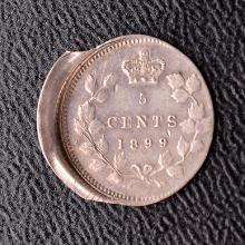 Victoria Five Cents, 1899, Error