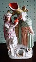 A Victorian Staffordshire chimney ornament,