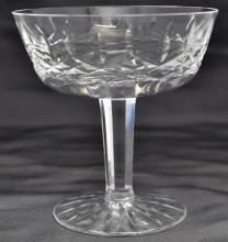 6 WATERFORD CRYSTAL LISMORE CHAMPAGNE / TALL SHERBERTS