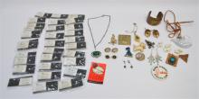 52 pc VINTAGE 1950-1980 EISENBERG + MORE COSTUME JEWELRY