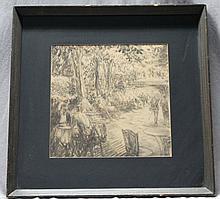 ORIGINAL MORGAN WALLACE 1920s ART DECO CENTRAL PARK