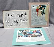 3 1930 R. JOHN HOLMGREN (1897- 1963) TEAR SHEETS