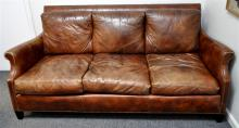 FERGUSON COPELAND CHARTWELL LEATHER SOFA