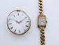 Lot en or, composé d'un bracelet de montre et d'une montre de poche. On y joint une montre bracelet de dame en métal. (en l'état). Poids brut de l'or: 67.20 g.