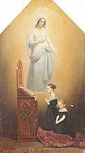 Ary SCHEFFER (1795-1858)   Madame Gallois de Naives et ses deux filles, 1839