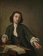 *Ecole Hollandaise XVIIIème. «L'écrivain public». Panneau. 33.5 x 26.5 cm