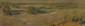 Alexandre NOZAL (1852-1929). Dunes de Terminus à Berck sur Mer. Pastel sur carton, signé en bas à droite et contresigné au dos. 16 x 50 cm