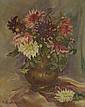 MOLONEL Kipa  « bouquet de fleurs sur un entablement »  /25