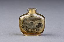 Jiang-Nan Glass Snuff Bottle