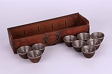 Aluminium wine cups