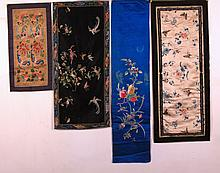 Assorted Collection of  Embroidery Panel