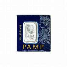 1 Gram PAMP Swiss Platinum Bar