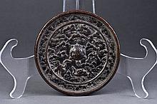 A Round Bronze Mirror