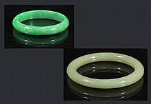 Jade Bangle & Apple Green Jade Bangle
