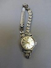 An Omega Seamaster ladies wristwatch.