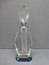 A decorative glass scent bottle.