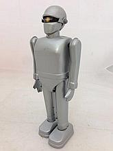 A tinplate clockwork robot produced for 'The Day