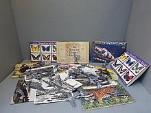 An assortment of cigarette collectors card albums,