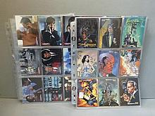 A James Bond trade card set - 'The World is Not