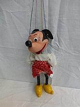 A Pelham Puppet - Minnie Mouse.