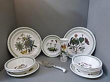 A quantity of Portmeirion tableware.