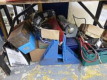 A large quantity of tools and related items from a