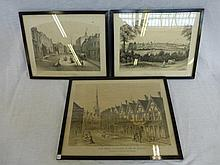 E.H. BUCKLER (19th Century) - two lithographs