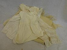 A 19th Century three part lace and linen