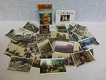 A quantity of postcards depicting English and