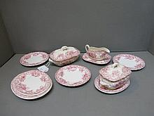 A B & S Ashley dolls part dinner service.