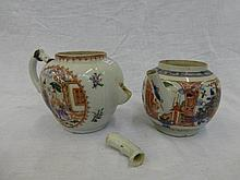 Two 18th Century Chinese teapots.