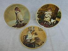 A set of eight Royal Doulton collectors plates all