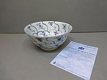 A Chinese bowl from the Tek Sing cargo ship, with