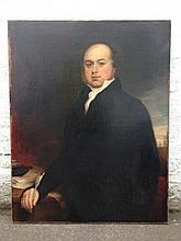 19th Century English School - portrait of a