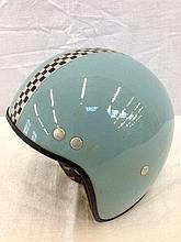A 1960s child's crash helmet.