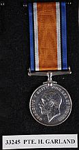 World War I medals awarded to 3rd Hussars