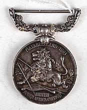 A British South Africa Company military medal,