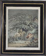 W Ward after George Morland/The Storm/No 6 The Dra